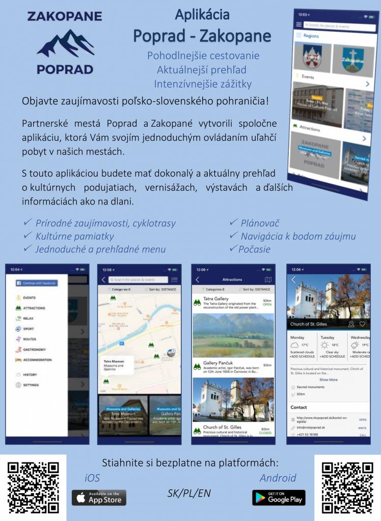 Aplikácia Poprad – Zakopane