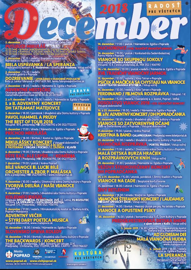 POPRADSKÉ VIANOCE otvoria v ADVENTNOM MESTEČKU v nedeľu 2.decembra