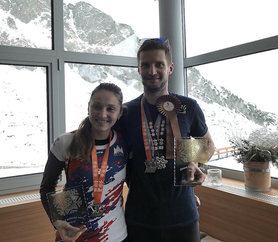 Tímea Mihoková a Štefan Bachratý celkovými víťazmi Zimnej bežeckej série