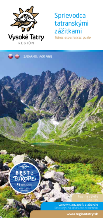 Brožúry - Región Vysoké Tatry