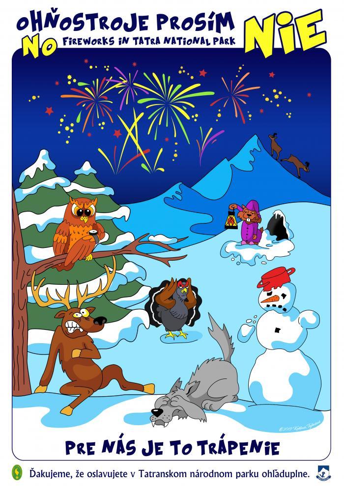 #bezpetard </br>Oslavujme Silvester a Nový rok ohľaduplne a s rozvahou