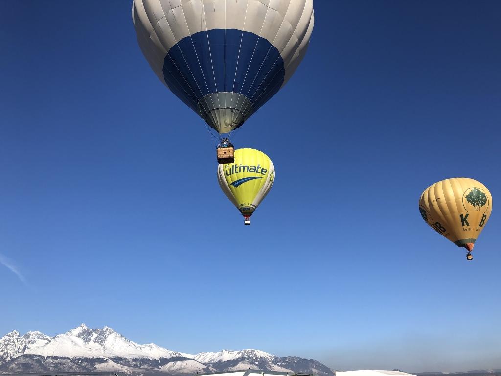 Balóny opäť zavítajú pod Tatry