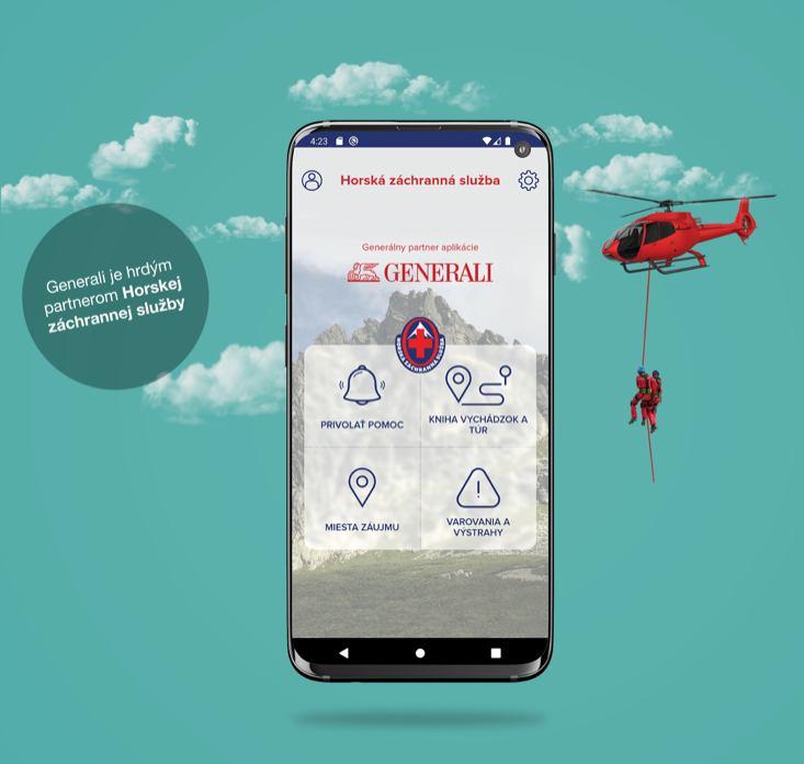 Horská záchranná služba prichádza s novou aplikáciou