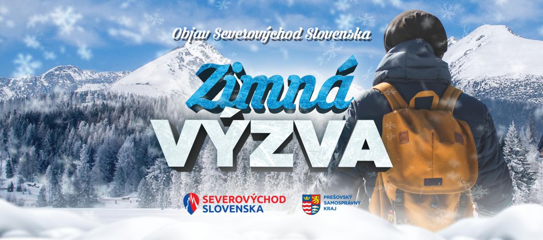 Zimná výzva – Objav Severovýchod Slovenska