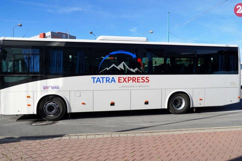 Prešovský kraj zavádza letný turistický spoj Pod Tatrami